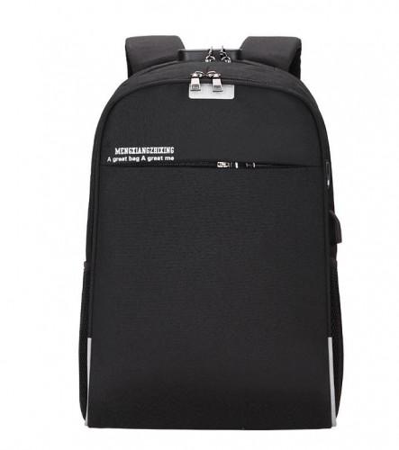 Tas Pria Ransel USB Korea Punggung Cowok Keren - Backpack Laptop Kerja