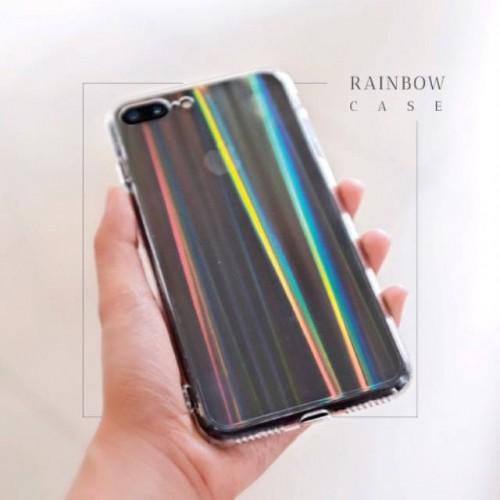 TPU RainBow Oppo F11 Pro - Softshell Bening - Silikon Case - Back Case - Back Cover