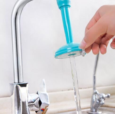 K01 Sambungan Kran plastik Irit air hingga 50% (Isi 2 pcs)