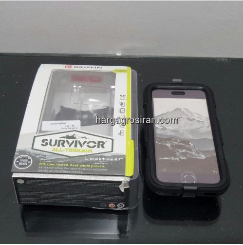 Survivor Case - Iphone 6G Plus Merek Griffin / Back / Cover / Anti Banting / Kokoh - STGRS