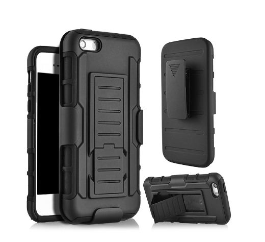 Future Armor Iphone 5 / 5s Belt Kick Stand / Defender Belt Clip Model OtterBox Case Out Door