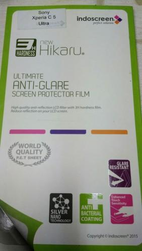 Anti Gores Sony Xperia C5 Ultra - Hikaru