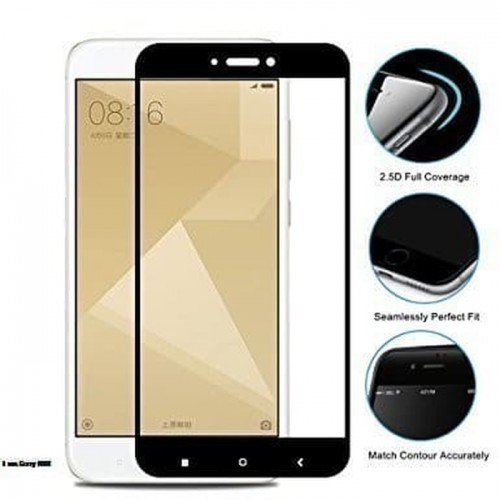 Tempered Glass Xiaomi Redmi 4X  / Full Body / Full Lem Anti Gores Kaca