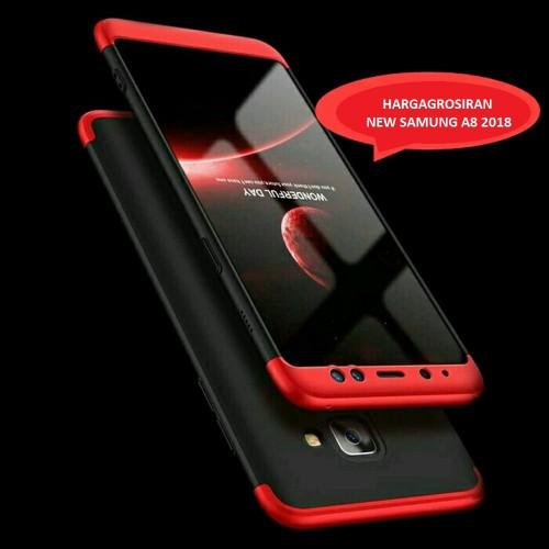 Samsung A8 2018 - GKK 360 Full Protective /Hardcase Full Case - Pelindung Full Body