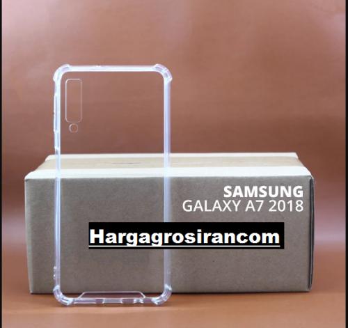 Anti Crack Fuze Samsung Galaxy A7 2018 Bening -  ShockProff / Anti Shock Case