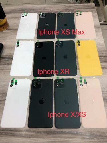 Tempered Glass Back Iphone XR Bisa Jadi Iphone 11 6.1 inch + Pelindung Lensa Kamera