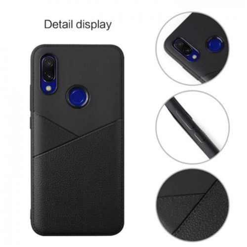 Oppo Realme 3 - Softcase Premium Ultra Slim - Model Kulit Jeruk - Back Case Cover