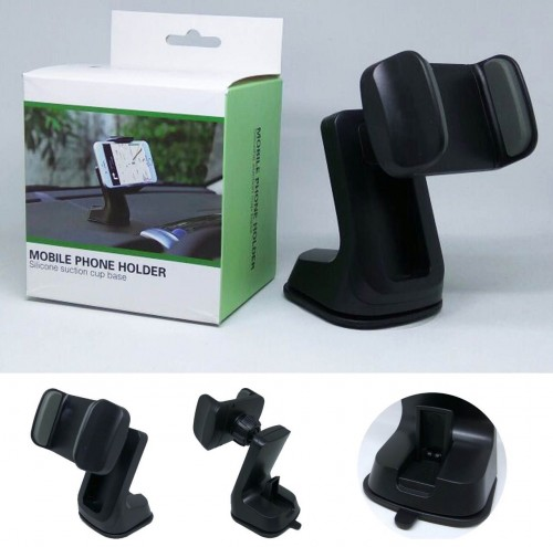 Car Holder Handphone dan GPS / Car Mount / Holder Mobil Di Dashboard