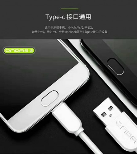 ONDA AL-50 Iphone Kabel Data USB Ligthing Fast Charging 5A 120cm Quality Trusted Bahan Tebal STRDY