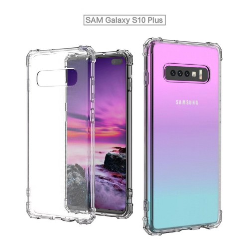 Anti Crack Fuze Samsung Galaxy S10 Plus Bening -  ShockProff / Anti Shock Case
