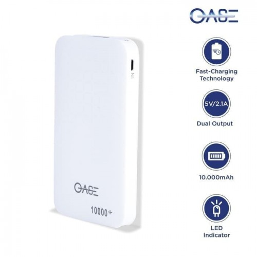Power Bank Oase MD-A07 10.000 MAh Real Kapasitas Quick Charger 2A Original Garansi