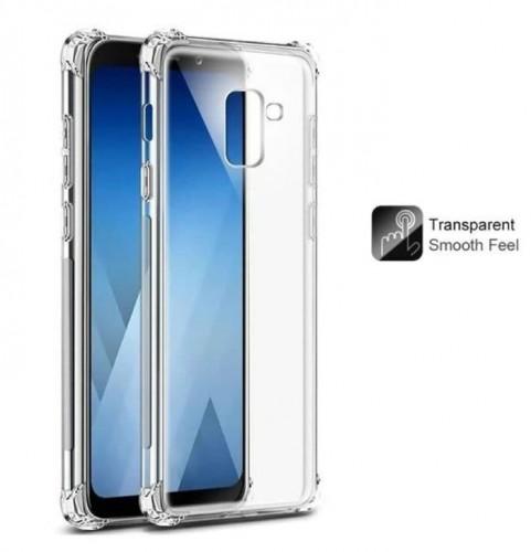 Anti Crack Fuze Samsung A8 2018  - Bening -  ShockProff / Anti Shock Case