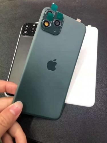 TBI-001 Tempered Glass Back Iphone XS MAX Bisa Jadi Iphone 11 Pro Max 6.5 inch + Pelindung Lensa Kamera