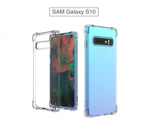 Anti Crack Fuze Samsung Galaxy S10 Bening -  ShockProff / Anti Shock Case