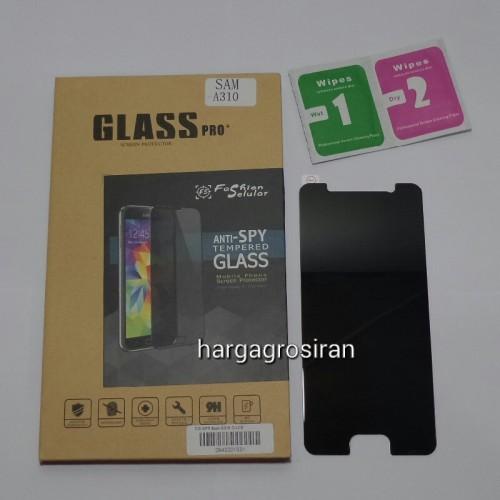 Tempered Glass FS SPY Samsung Galaxy J1 Ace / Anti Gores Kaca Private TIDAK ADA GARANSI PECAH