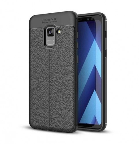 Samsung Galaxy A6 2018 - Case Kulit Auto Focus - Softshell / Silikon / Cover / Softcase