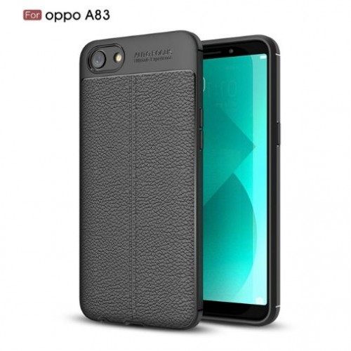 Oppo A83 - Auto Focus Case Model Kulit - Softshell / Silikon / Cover / Softcase