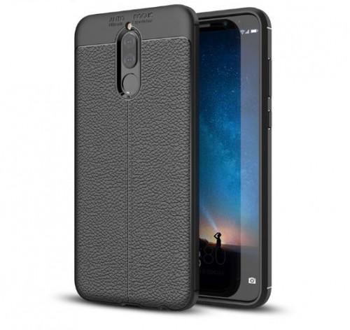 Huawei Nova 2i - Case Kulit Auto Focus - Softshell / Silikon / Cover / Softcase