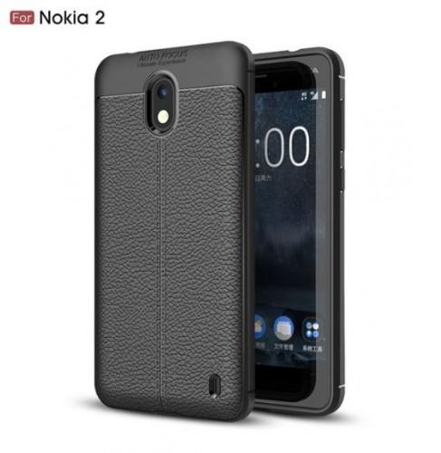 Nokia 2 - Case Kulit Auto Focus - Softshell / Silikon / Cover / Softcase
