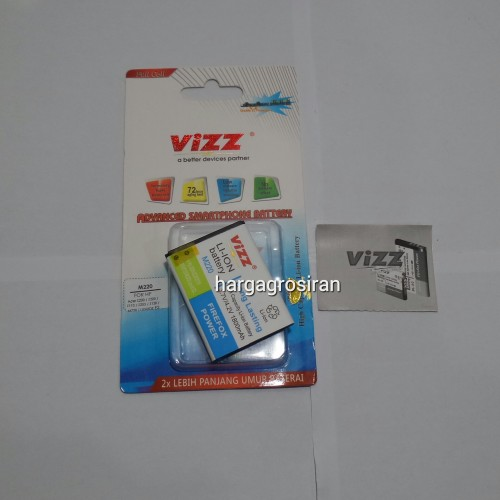 Vizz Acer M220 / Z200 / Z220 / Z110 / Z205 / Z120 / Liquid E2 Double IC Protection  + Bergaransi