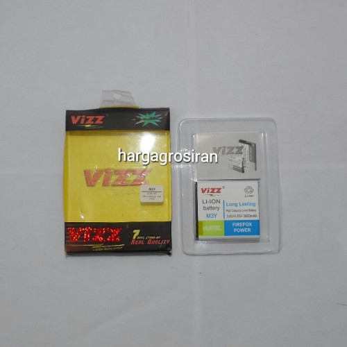 Vizz Andromax Mi Fi Modem M3Y / M3Z - Baterai Double Power + Double IC + Double Protection