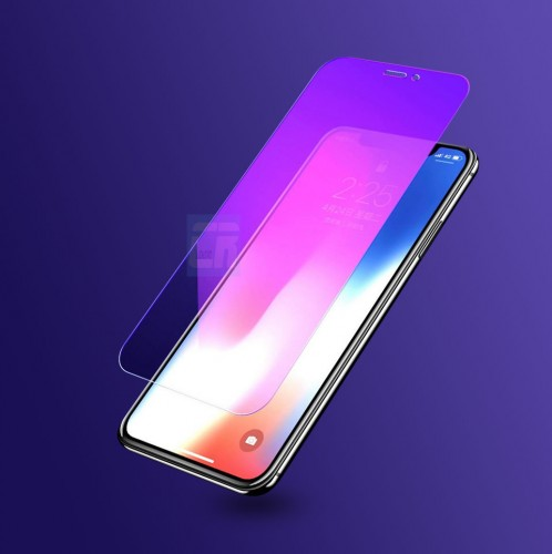 Tempered Glass Iphone X / Anti Blue / Anti Radiasi  / Anti Gores Kaca