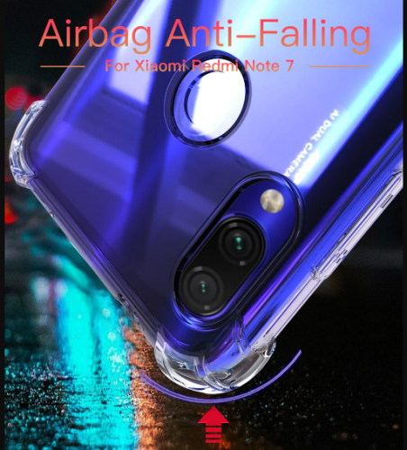 Anti Crack Fuze Xiaomi Note 7 - Bening - ShockProff / Anti Shock Case