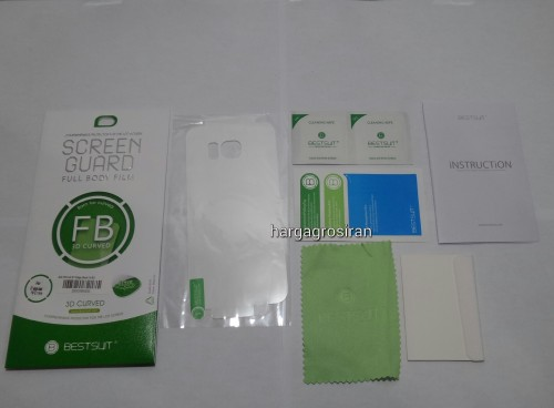 Anti Gores Belakang FS Samsung S7 Edge - Full Cover / Khusus Belakang Full Body 3D Curved 0.1 mm