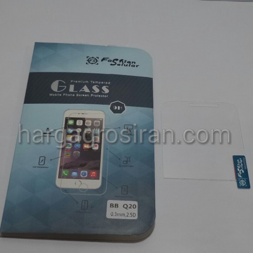 Tempered Glass FS Blackberry Q20 / Classic / Anti Gores Kaca