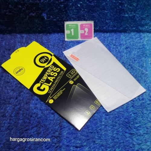 Oppo A3S - Tempered Glass STD /  Anti Gores Kaca - TIDAK ADA GARANSI