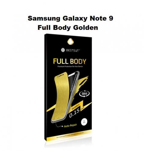Anti Gores Samsung Galaxy Note 9 - 2in1/Auto-Repair / Full Body Curved / Depan dan Belakang 0.15 MM