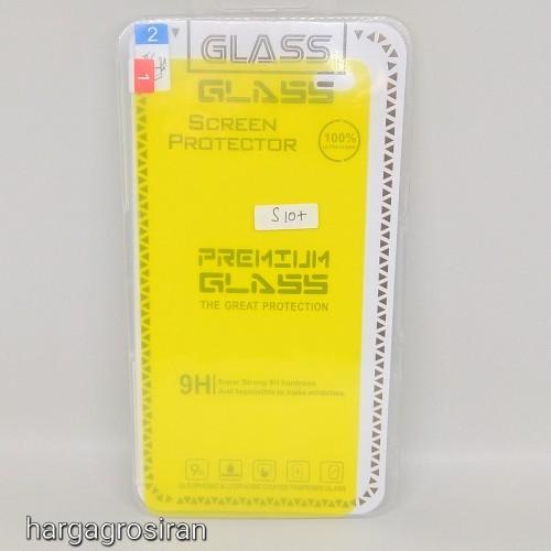 Anti Shock / Anti Gores Karet Untuk Samsung Galaxy S10 Plus Full Cover