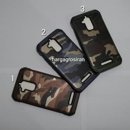 Slim Army Asus Zenfone 3 Max / ZC520TL - Back Case / Cover Armor / Loleng TNI / Abri