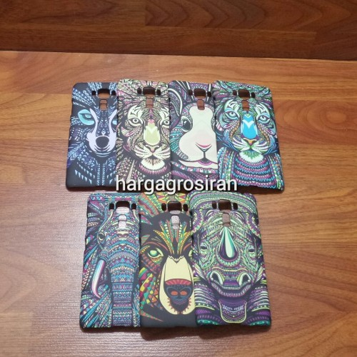 LUXO Asus Zenfone 3 Laser 5.5 - Hardcase / Back Case Motif Batik Animals Abstrak Glow In The Dark