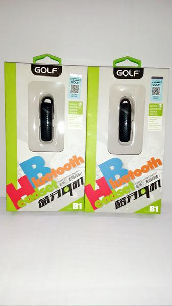 Earphone Bluetooth Golf B1 / Handsfree Bluetooth Golf B1/ Headset Garansi STHRG