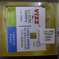 Vizz Lenovo s880 / K860 / s890 / A850 - Baterai Double Power