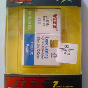 Vizz LG G3 / G3 / BL-53YH Stylus Baterai Double Power