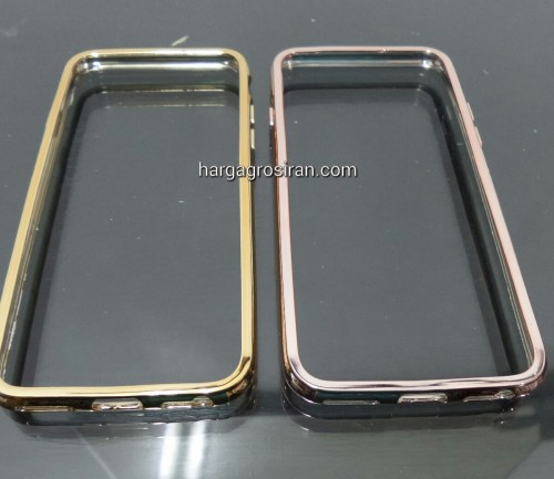 Bumper Karet / TPU Rose Gold dan Gold Iphone 6/6s