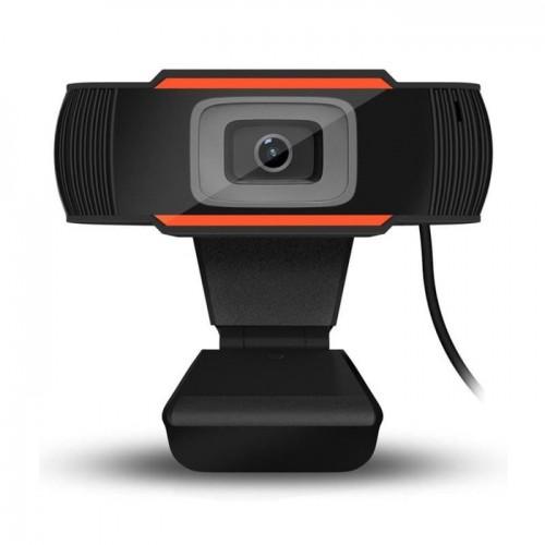 CAM-01 Webcam Web Camera Autofocus PC Laptop Desktop full HD 720 Live Streaming Belajar Online