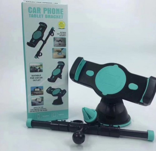 Car Holder 4 in 1 For Handphone / Phone / Tablet - Bisa Dashboard  / Di Jok / Kaca / Ac Mobil