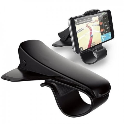 CHM-014 HD15 Universal Holder Mobil / Car Mount Model Jepit di SpeedoMeter