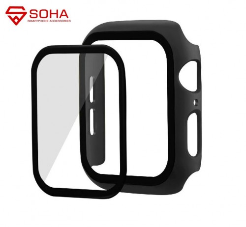 IWT-001 Bumper Case Iwatch Ada Tempered Glass Screen Protector Cover Apple Watch Series 1/2/3/4/5 38mm 42mm 40mm 44mm