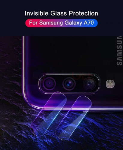 Camera Screen Protector Samsung Galaxy A70 Tempered Flexible - Anti Gores Pelindung Lensa Kamera