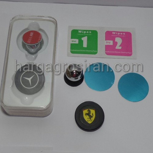 Car Holder Magnet Handphone dan GPS / Holder Mobil di Dashboard