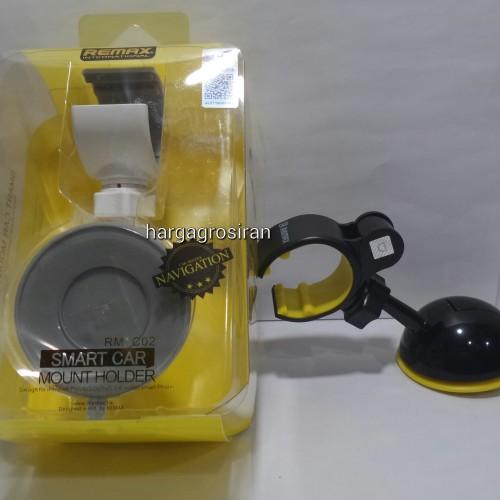 Car Holder Remax RM-C02 / Holder Mobil / Car Mount dengan Model Seperti Capdase