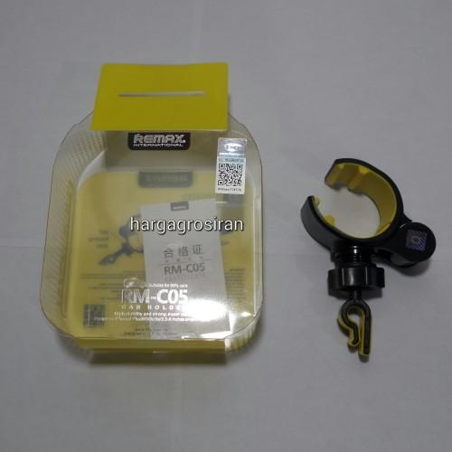 Car Holder Remax RM-C05 / Holder di AC Mobil / Car Mount dengan Model Seperti Capdase