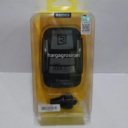 Car Holder Remax RM-C13 / Holder di AC Mobil / Car Mount dengan Model Seperti Capdase