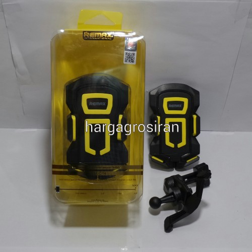 Car Holder Remax Rm C-14 /  Holder di AC Mobil / Dengan Model Seperti Capdase