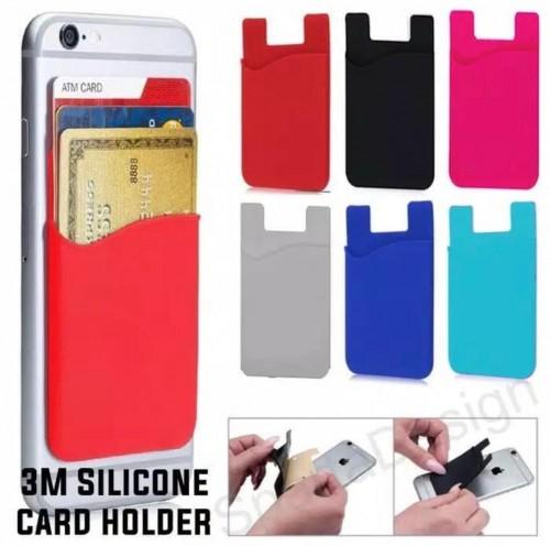 3M Card Holder Simpan Kartu Nama, ATM, Kartu Kredit Tinggal Tempel dibelakang HP / Casing HP