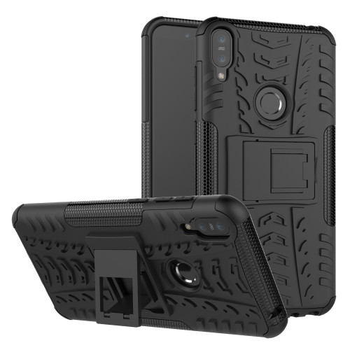 Case Asus Zenfone Max Pro M1 ZB602KL - Rugged Armor Stand / Hybrid / Dazzle Cover